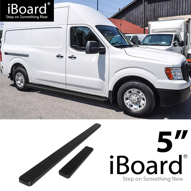 Image Is Loading Running Board Side Step 5in Black Fit Nissan